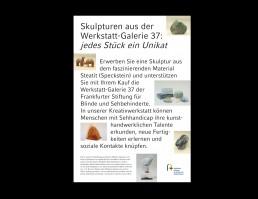 Skulpturen aus der Werkstatt-Galerie 37